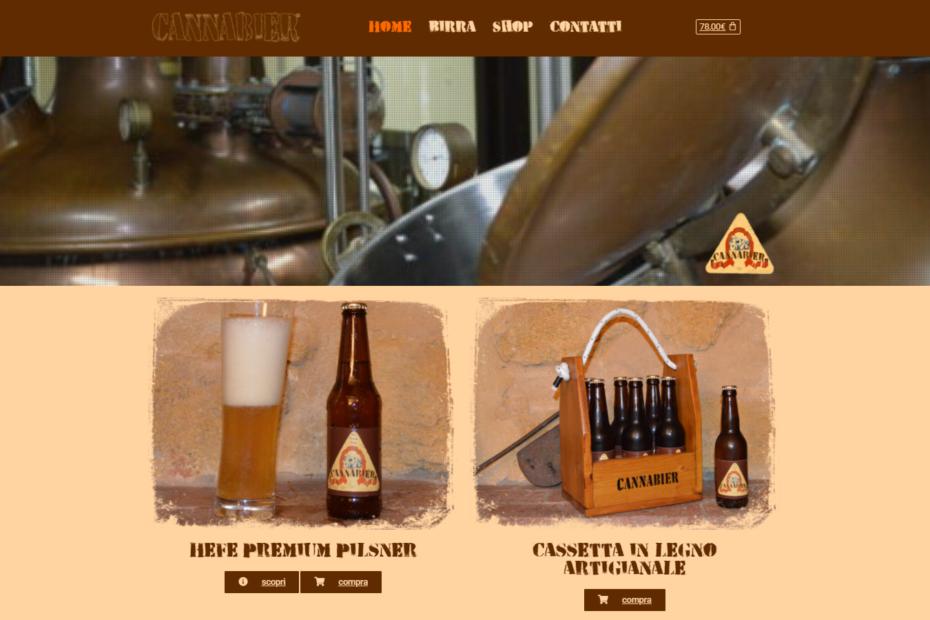 Sito web birra artigianale